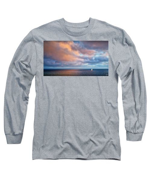 The Sea At Peace Long Sleeve T-Shirt