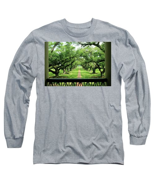The Shade Of The Oak Tree Long Sleeve T-Shirt