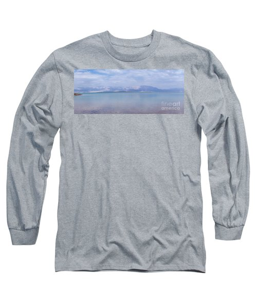 Long Sleeve T-Shirt featuring the photograph The Silence Of The Dead Sea by Yoel Koskas