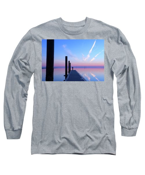 The Silent Man Long Sleeve T-Shirt by Thierry Bouriat
