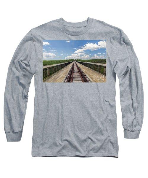 The Skywalk Long Sleeve T-Shirt by Jim Lepard