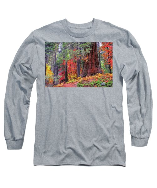 The Small And The Mighty Long Sleeve T-Shirt by Lynn Bauer