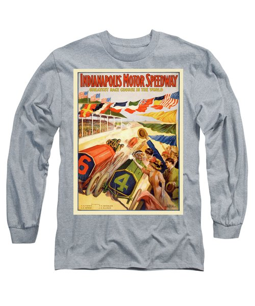The Speedway Long Sleeve T-Shirt by Gary Grayson