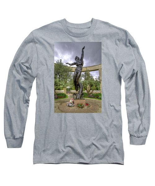 The Spirit Of American Youth Rising Long Sleeve T-Shirt by Tim Stanley