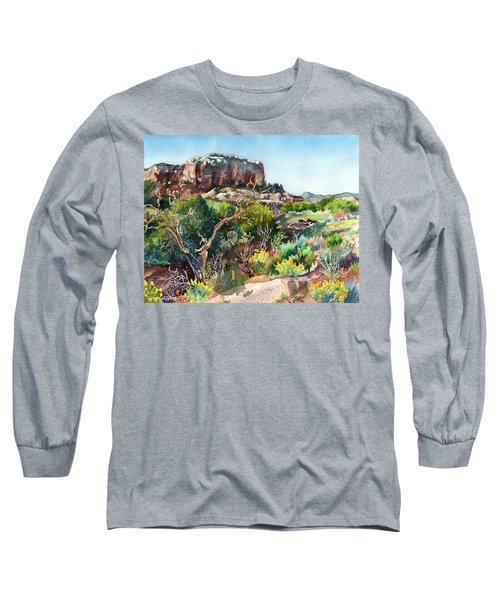 The Spirit Of Ghost Ranch Long Sleeve T-Shirt