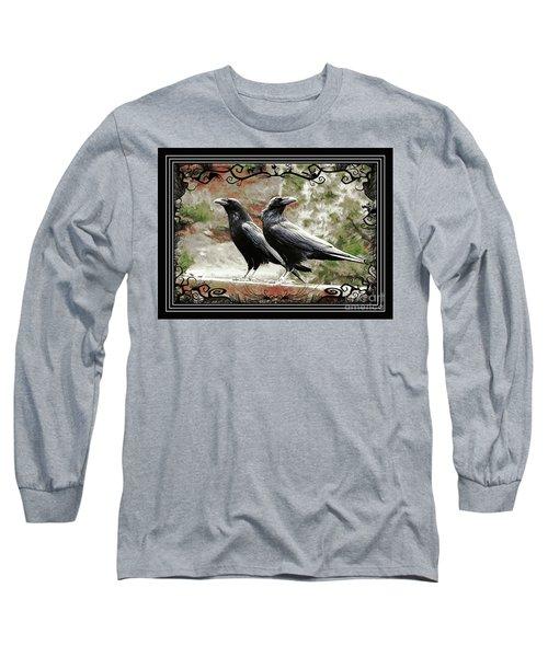 The Spooky Ravens Long Sleeve T-Shirt