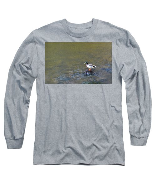 The Standing Duck Long Sleeve T-Shirt