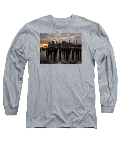 Long Sleeve T-Shirt featuring the photograph The Sticks by Anthony Fields
