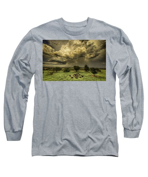 Long Sleeve T-Shirt featuring the photograph The Storm by Chris Cousins
