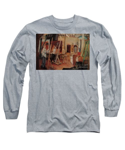 The Studio Long Sleeve T-Shirt by Nancy Kane Chapman
