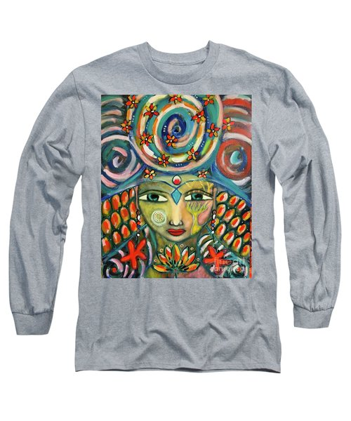 The Sun Goddess  Long Sleeve T-Shirt