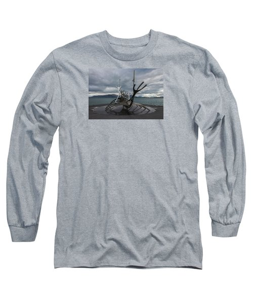 The Sun Voyager, Reykjavik, Iceland Long Sleeve T-Shirt