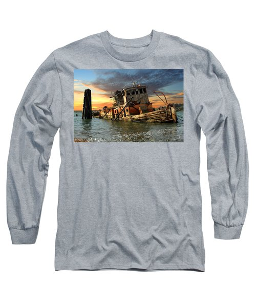 The Sunset Years Of The Mary D. Hume Long Sleeve T-Shirt