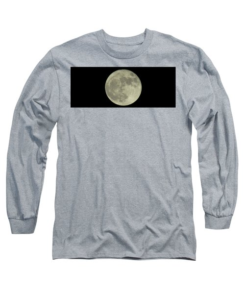 Long Sleeve T-Shirt featuring the photograph The Super Moon 3 by Robert Knight