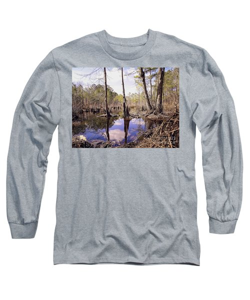 The Swamp Long Sleeve T-Shirt by Melissa Messick