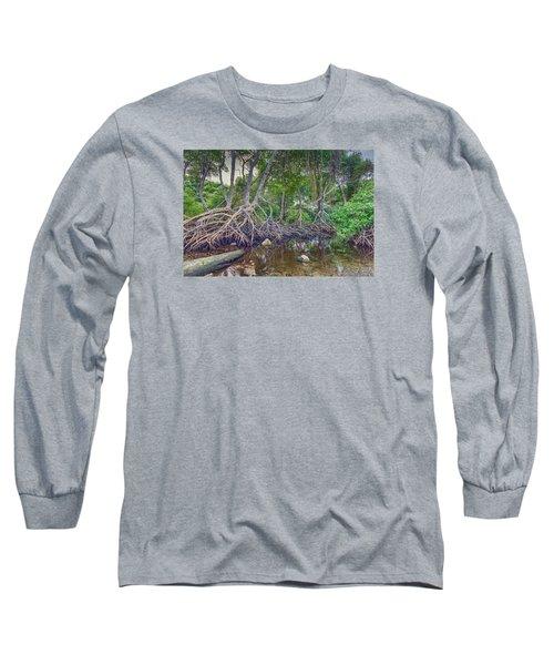 The Swamp Long Sleeve T-Shirt by Nadia Sanowar