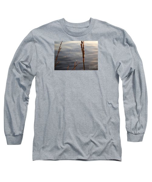 Long Sleeve T-Shirt featuring the photograph The Tangled Webs We Weave by Rebecca Davis