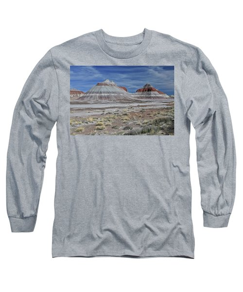 Long Sleeve T-Shirt featuring the photograph the TeePees by Gary Kaylor