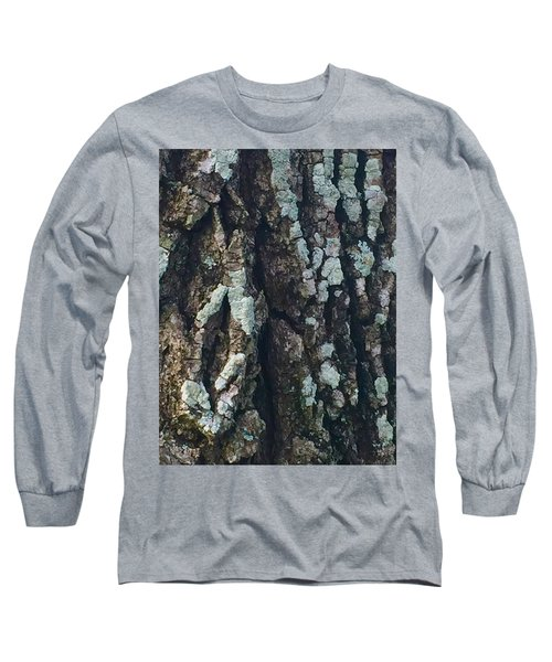 The Texture Is In The Trees1 Long Sleeve T-Shirt