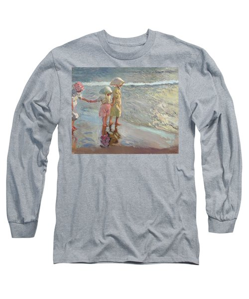 The Three Sisters On The Beach Long Sleeve T-Shirt