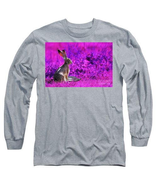The Tortoise And The Hare . Magenta Long Sleeve T-Shirt
