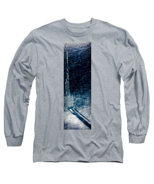 The Tower Of Ice Shadows Long Sleeve T-Shirt