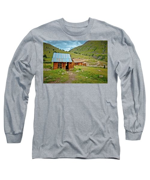 The Town Of Animas Forks Long Sleeve T-Shirt