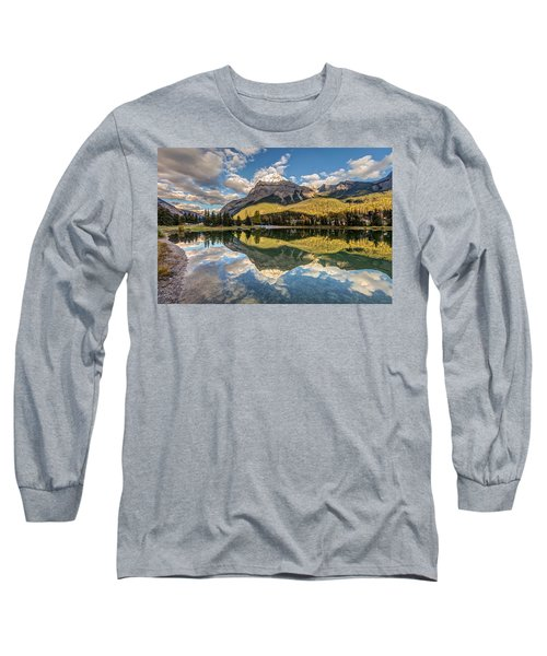 The Town Of Field In British Columbia Long Sleeve T-Shirt