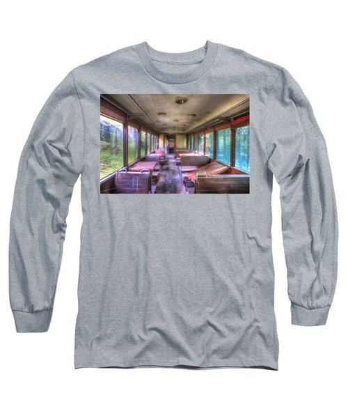 The Tram Leaves The Station... Inside Long Sleeve T-Shirt