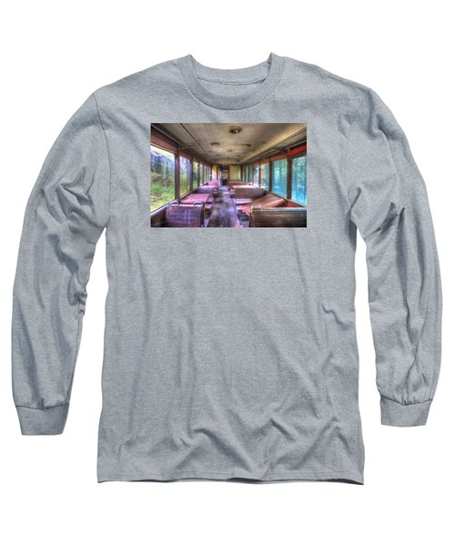 The Tram Leaves The Station... Inside Long Sleeve T-Shirt
