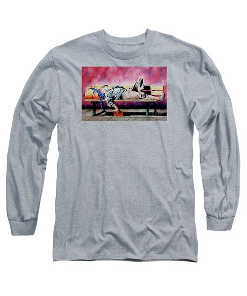 The Traveler 1 - El Viajero 1 Long Sleeve T-Shirt