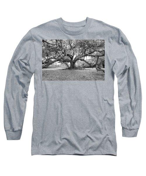 The Tree Of Life Monochrome Long Sleeve T-Shirt