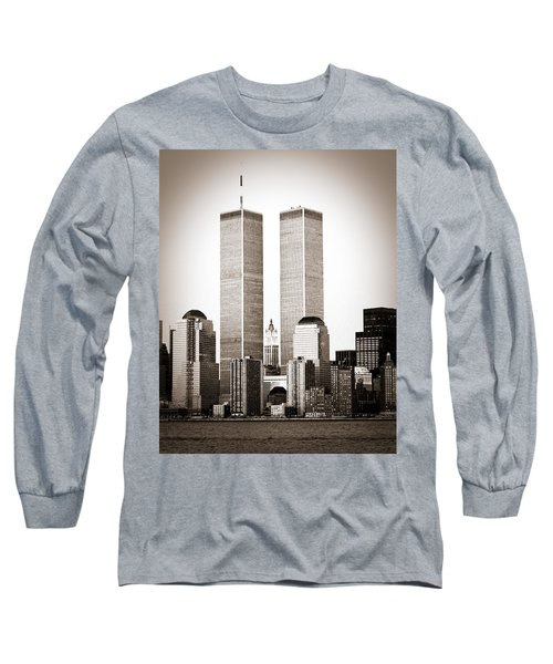 The Twin Towers Long Sleeve T-Shirt