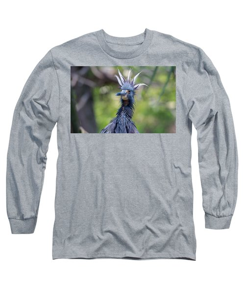 The Ultimate Bad Hair Day Long Sleeve T-Shirt by Kenneth Albin