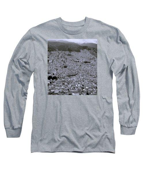 The Urban City Long Sleeve T-Shirt by Shaun Higson
