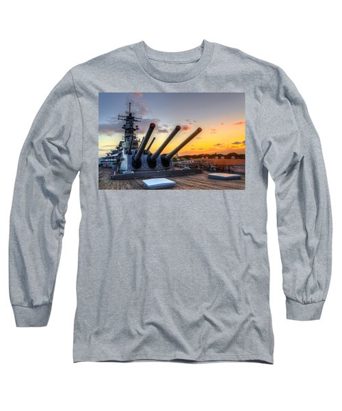 The Uss Missouri's Last Days Long Sleeve T-Shirt