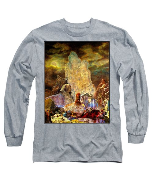 The Valley Of Sphinks Long Sleeve T-Shirt