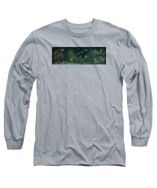 The Visitor Long Sleeve T-Shirt by Dawn Fairies