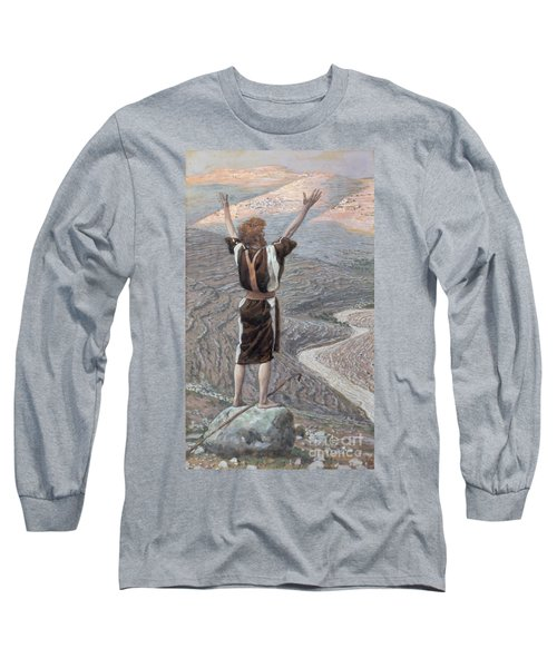 The Voice In The Desert Long Sleeve T-Shirt