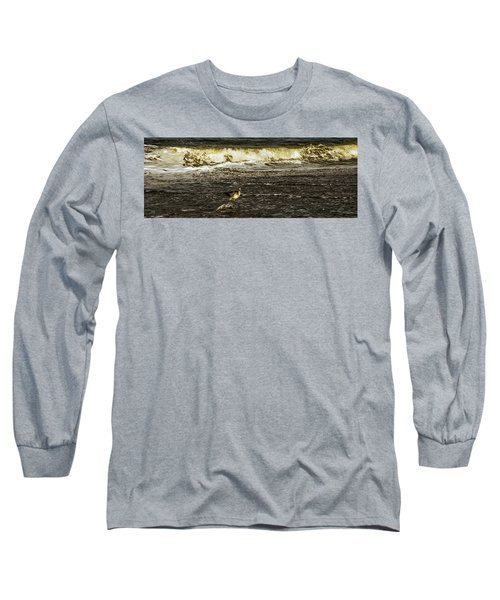 The Wading Willet  Long Sleeve T-Shirt