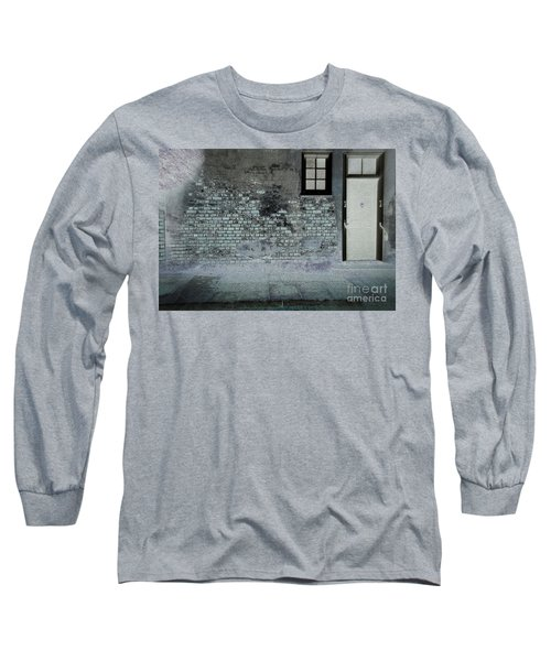 Long Sleeve T-Shirt featuring the photograph The Wall by Douglas Stucky