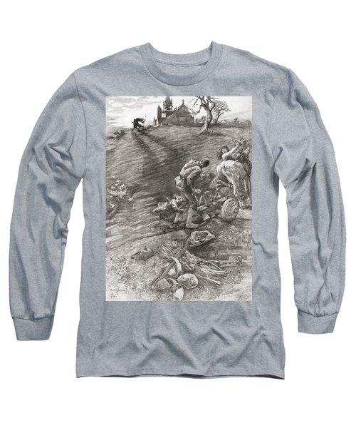 The Wandering Jew. Legend Tells Of A Long Sleeve T-Shirt