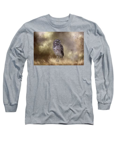Long Sleeve T-Shirt featuring the photograph The Watchful Eye by Kim Hojnacki