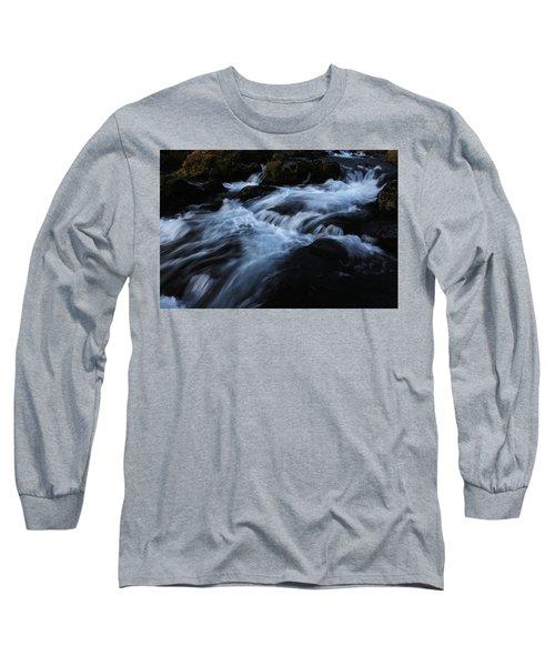 The Waters Of Kirkjufell Long Sleeve T-Shirt