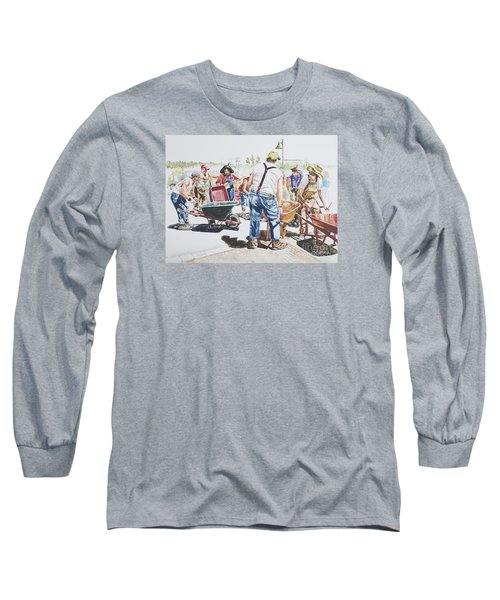 The Wheelsbarrow Band Long Sleeve T-Shirt