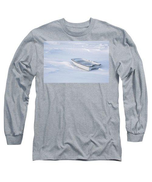 The White Fishing Boat Long Sleeve T-Shirt
