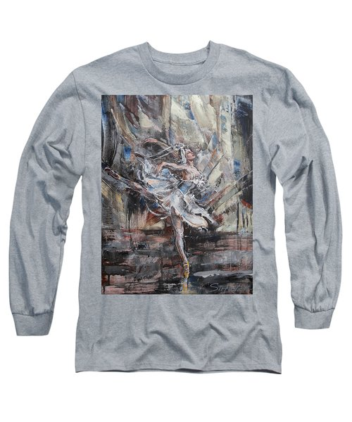 The White Swan Long Sleeve T-Shirt