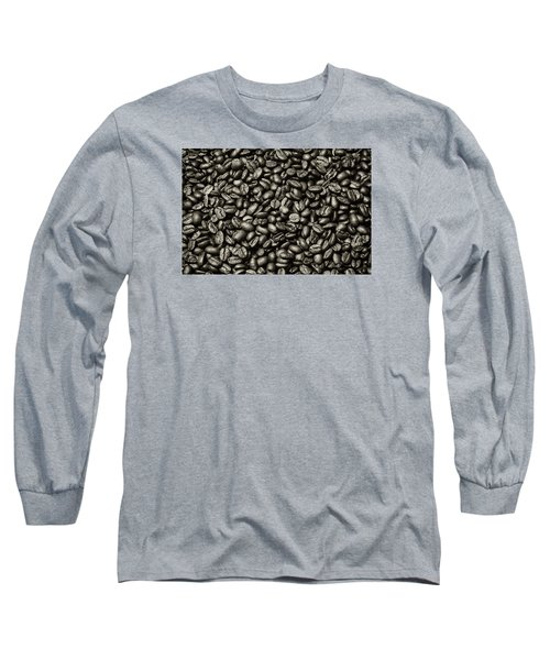 Long Sleeve T-Shirt featuring the photograph The Whole Bean by Andy Crawford