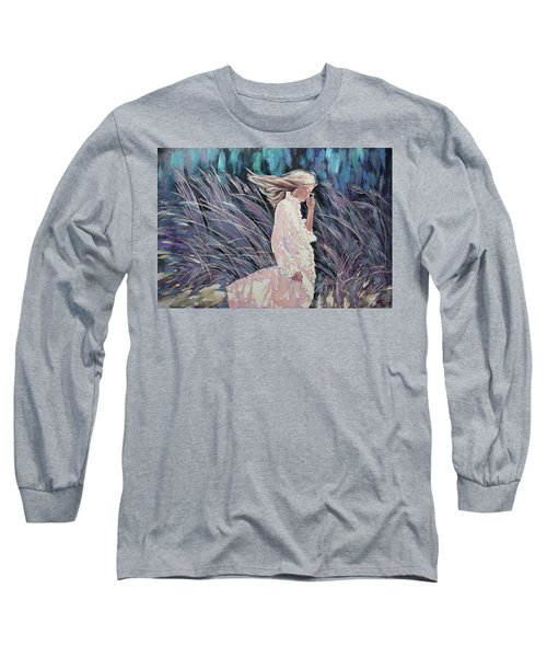 The Wind Smells Of Herbs Long Sleeve T-Shirt