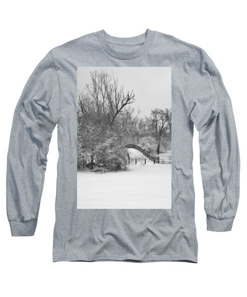 The Winter White Wedding Bridge Long Sleeve T-Shirt